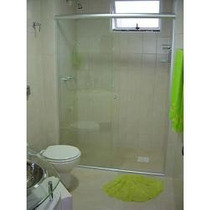 Box De Banheiro Em Vidro Cristal Incolor Temperado 08 Mm