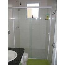 Box P Banheiro, Vidro Temperado 8mm, Incolor,+2 Brindes!!!