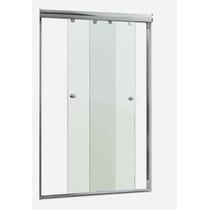Kit 2 Portas 1,60mt. - P/ Inst. De Box Em Vidro -nat. Fosco