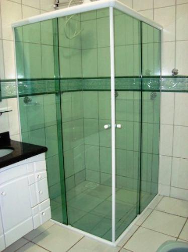 Box Banheiro Vidro 8mm Temperado Queima De Estoque  Barueri  R$ 64,00 em Me -> Box Para Banheiro Pequeno Mercado Livre