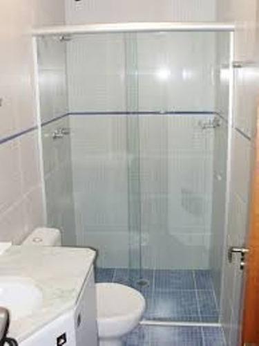 Box Banheiro Vidro Incolor Estrutura Fosca Valor Do M²  R$ 149,00 no Mercado -> Decoracao De Banheiro Box
