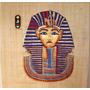 Tela Papiro Tutankhamon Para Quadro Antigo Egito Antigo !!