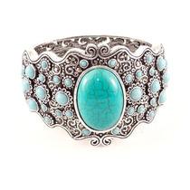 Bracelete Candy I - Bijuteria Fina Cor Azul Candy E Turquesa