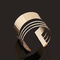 Bracelete Feminino Em Ouro 18k 750 Modelo Luxo Moderno
