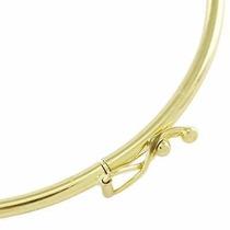 Bracelete Pulseira Redondo Em Ouro 18k-750 Frete-grátis