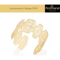 Bracelete Pulseira Feminina F. Ouro 18k Rommanel 551357
