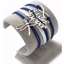 Pulseira Bracelete Múltiplo - Justin Bieber - Libélula