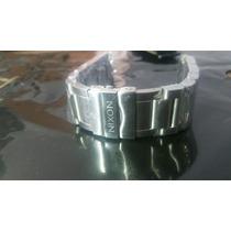 Pulseira Relógio Nixon 5130 Prata Completa