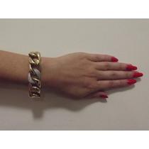 Pulseira Em Ouro 18k/750 Vivara Com Diamantes Original