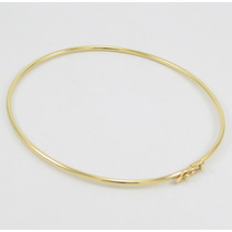 Esfinge Jóias - Bracelete Tubular Fio Ômega Em Ouro 18k 750.