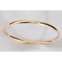 Bracelete Boleado Em Ouro Amarelo 18 K - Frete Grátis