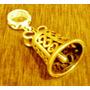Charms Sino P/pulseiras Pandora Ou Life Prata Banho De Ouro