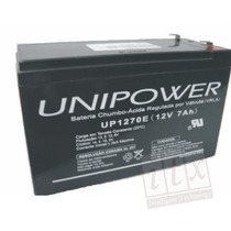 Bateria Selada 12v 7a Unipower Up1270e Bateria Para No-break