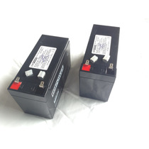 Kit 2 Baterias 12v 7ah Para Nobreak Sms Nhs Enermax Ragtech