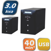 Nobreak Senoidal 3kva 220/220v Com Bateria Interna E Softwar