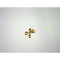 Brinco De Bolinha Tarracha Baby 2.5mm Ouro 18k 035059