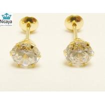 Nicaya Brinco Calice Solitário 5mm Ouro 18k-750