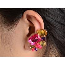 Brinco Ear Cuff De Pressão Importado Pronta Entrega Brasil
