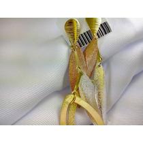 Brinco Folheado Ouro 18k Prata Rose Adora Mulheres Elegantes