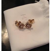H.stern Brincos Ouro Nobre E Diamantes Com Certificado.
