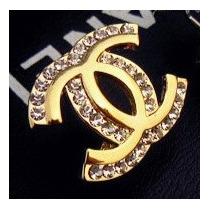 Brinco Strass Chanel Por 44,99 Pronta Entrega