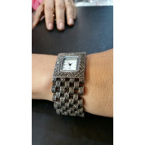 Relógio Prata925 Com Marcasita