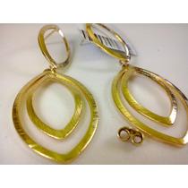 Brinco Folheado Ouro 18k Moda Design Romantico Elegante