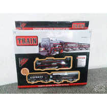 Ferrorama Locomotiva Vagão E Trilhos 13pçs