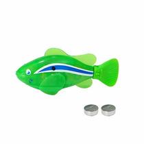 Robo Fish Peixe Robotico Aquario Nada Sem Controle Remoto