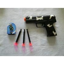 Brinquedo Pistola Lança Dardos