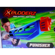 Paintball Armabrinquedo Xploderz Punisher C/1000 Bolas Sunny