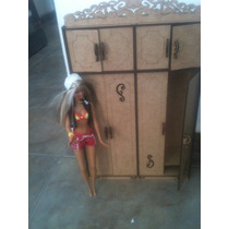 Guarda-roupas Miniatura Provençal Mdf Barbie/monster High