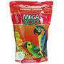 Ração Extrusadas Para Papagaios E Araras Megazoo 700g