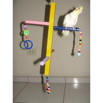 Playground Para Aves (calopsitas, Periquitos, Papagaio..) 09
