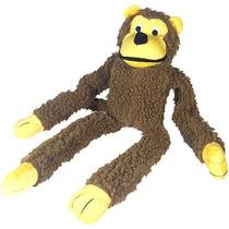 Brinquedo Cães Macaco Pelúcia Com Apito Importado Melhor $
