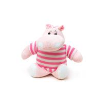 Brinquedo Cães Tasha Hipopótamo Pelúcia Com Apito Importado