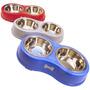 Comedouro Bebedouro Inox 720ml Cães Cachorro Western #pet-88