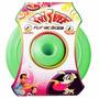 Brinquedo Cães Disco Frisbee Borracha Verde 22 Cm Diversão