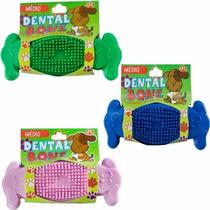 Dental Bone Médio, Remove O Tártaro E Anti Stress P/ Cães