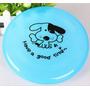 Frisbee Dog Disco Voador Resiste A Dente Grande - Azul