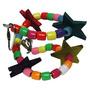 Brinquedo Estrelas Para Periquitos. Cacatuas. Calopsitas