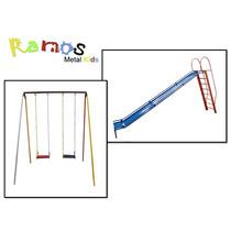 Conjunto Radical - Brinquedo Infantil - Balanço - Escorrega