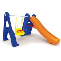 Playground Escorregador Com Balanço
