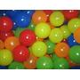 Bolinha De Piscina Coloridas 71mm De Diametro C/ 500 Unidade