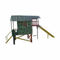 Playground De Madeira Casa Do Exército - Decor Festas