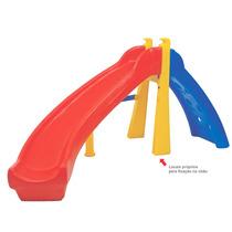 Brinquedo Para Playground Escorregador Infantil Curvo Freso.