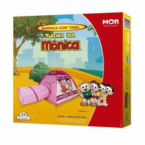 Barraca Toca Barraquinha Infantil Com Túnel Turma Da Mônica