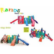Playground Big Little - Parque Infantil Brinquedo Plastico