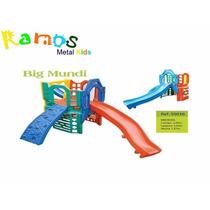 Playground Big Mundi - Parque Infantil Brinquedo De Plastico