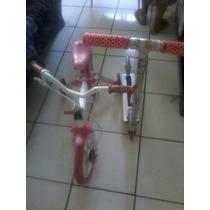 Bicicleta E Patnet Infantil Rosa!!